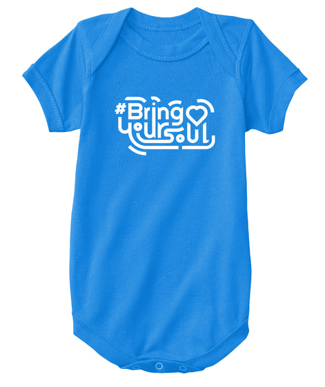 Bring Your Soul Royal T-Shirt Front