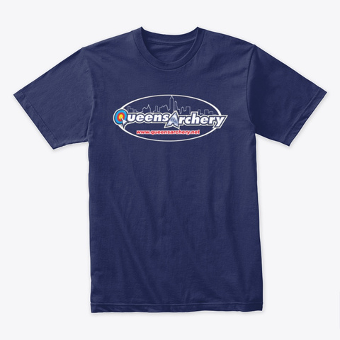 Logo Shirt Midnight Navy T-Shirt Front