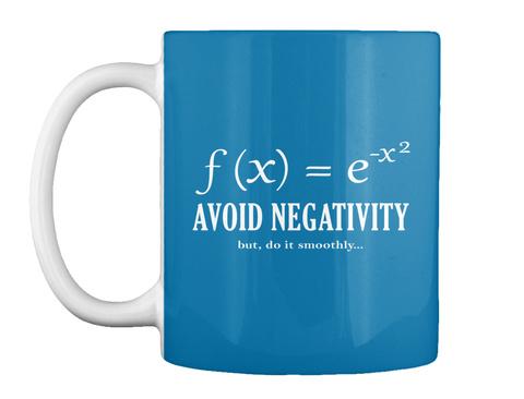 F (X) = E X2 Evita la negatividad, pero hazlo sin problemas ... Royal Blue Camiseta Front