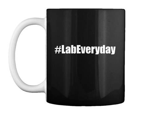 #Labeveryday Black T-Shirt Front