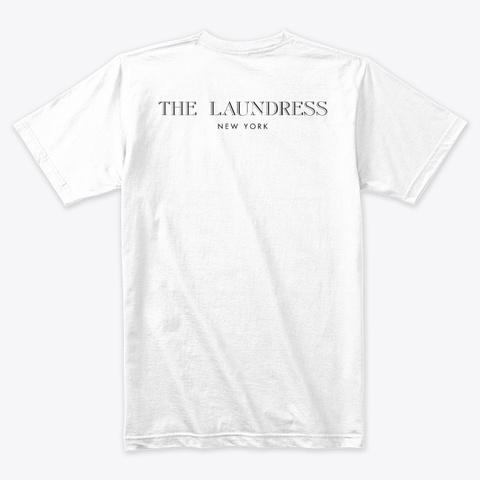 Real Men Do Laundry Tee White T-Shirt Back