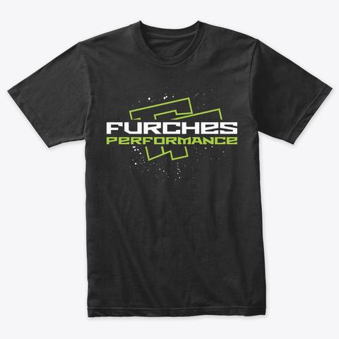 Og Furches Performance Tee Vintage Black T-Shirt Front