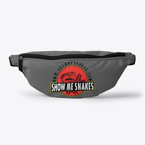 Show Me Snakes Charcoal T-Shirt Front