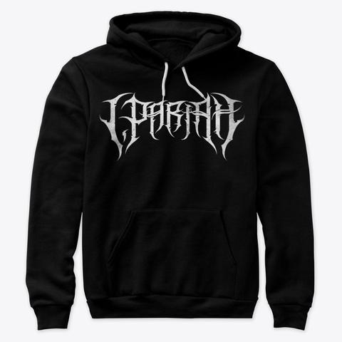 I, Pariah Logo Hoodie Black T-Shirt Front