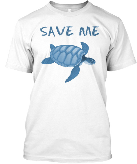 Save Me White T-Shirt Front