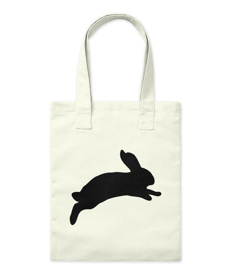 The Bunny Bag  Natural T-Shirt Front