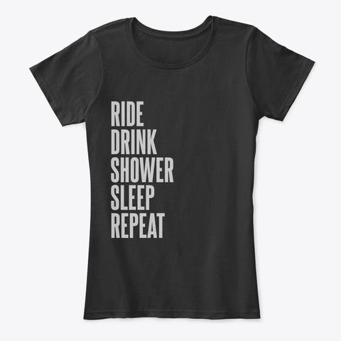 Hs Black T-Shirt Front