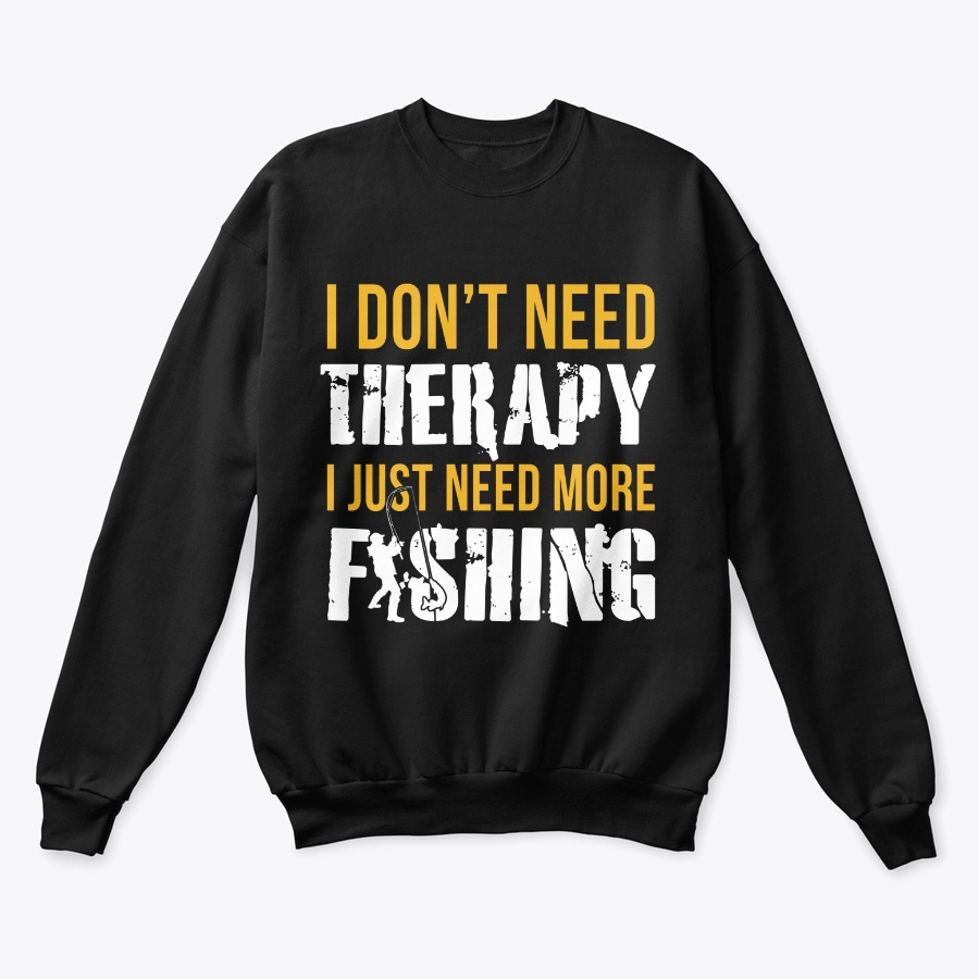 I Dont Need Therapy I Need Fishing - Perfect Cheap Fishing Polo Tee Shirts Design