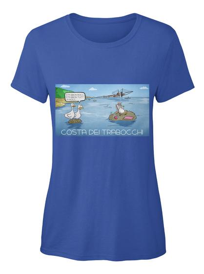 Costa Dei Trabocchi Royal T-Shirt Front