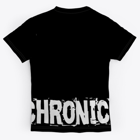 Grievechronic/ Puryf Collection By Aolab Black T-Shirt Back