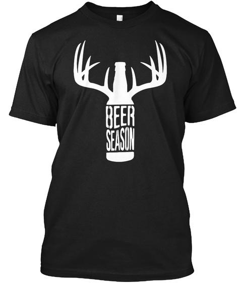 Beer Season Black T-Shirt Front