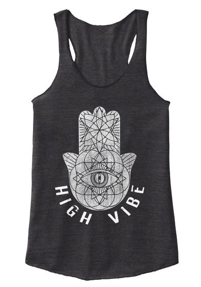 High Vibe  Eco Black T-Shirt Front