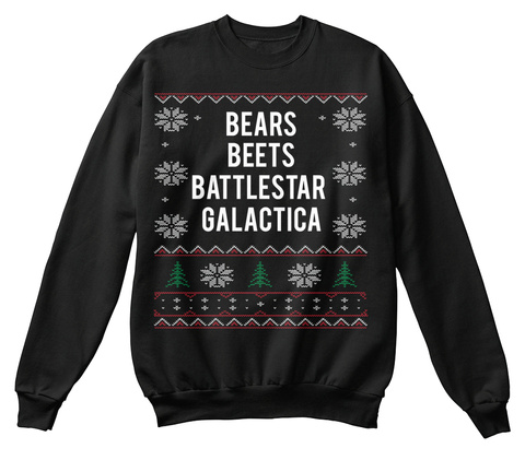 Bears Beets Battlestar Galactica  Black Kaos Front