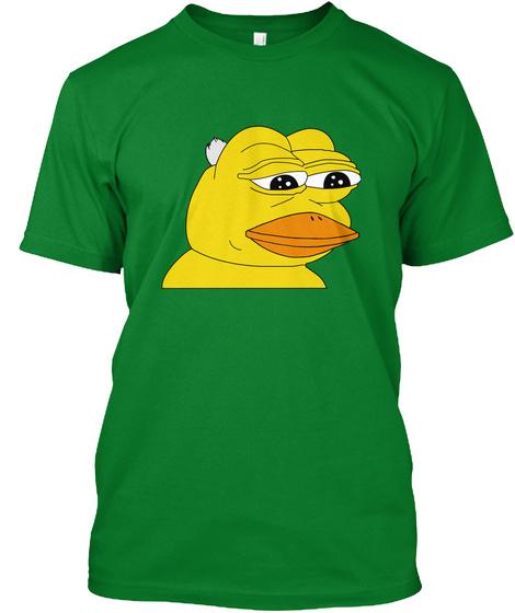 Feelsduckman Bright Green T-Shirt Front
