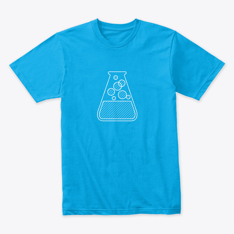 Image Not Opening Turquoise T-Shirt Front