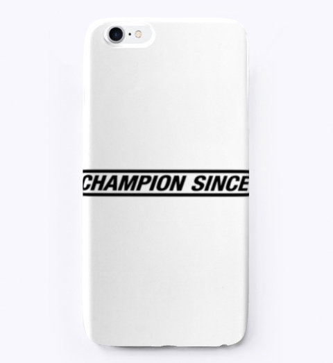 Champion Since Accessories Standard T-Shirt Front