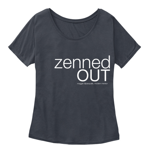 Zenned Out Maggie Dipasquale, Modern Mentor  Midnight Women's T-Shirt Front