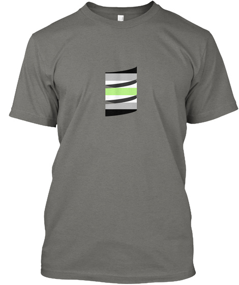 Scala Pride (Agender Pride) Grey T-Shirt Front
