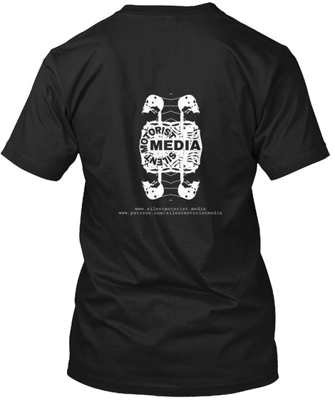 Smm Faces Of Horror: Cosmic Black T-Shirt Back