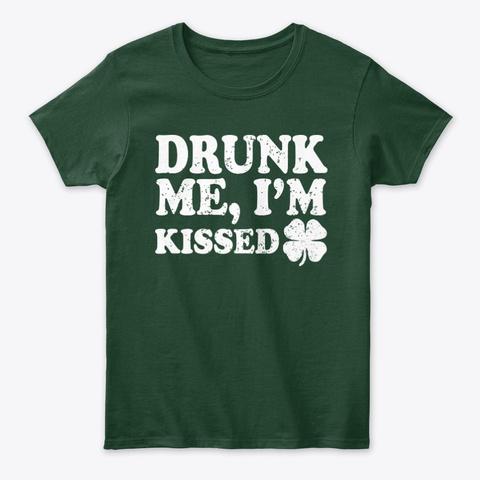 Drunk Me Im Kissed Funny Paddy Tee Unisex Tshirt