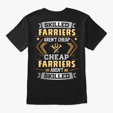 Skill Farrier Shirt Black T-Shirt Back