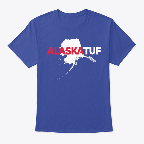 Alaska Tuf Tee Deep Royal T-Shirt Front