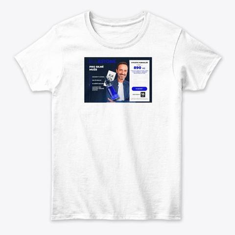 Bluestone Czech Republic White T-Shirt Front