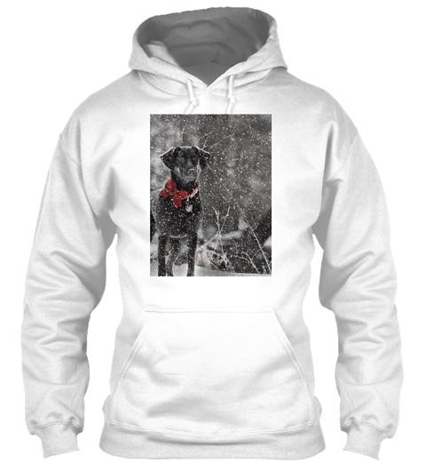Dashing Through The Snow...  White T-Shirt Front