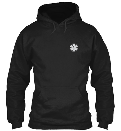 Awesome Emt Hoodie Black T-Shirt Front