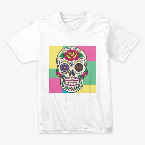 Coffee Muerta White T-Shirt Front