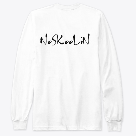 No S Koo Li N Merch (Pack) White T-Shirt Back