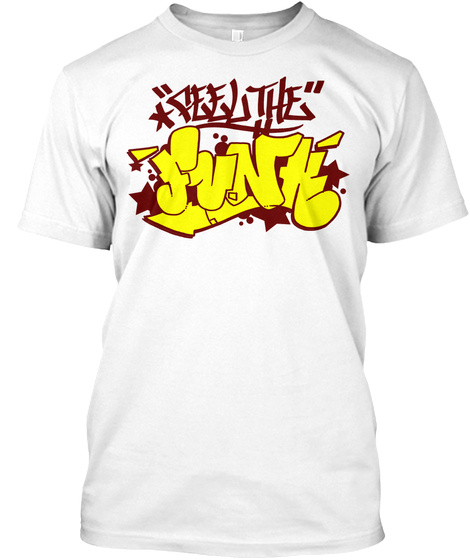 Funk White T-Shirt Front