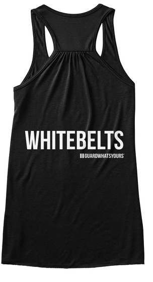 I Slay White Belts Bjj Jiu Jitsu   Gwy Black Camiseta Back