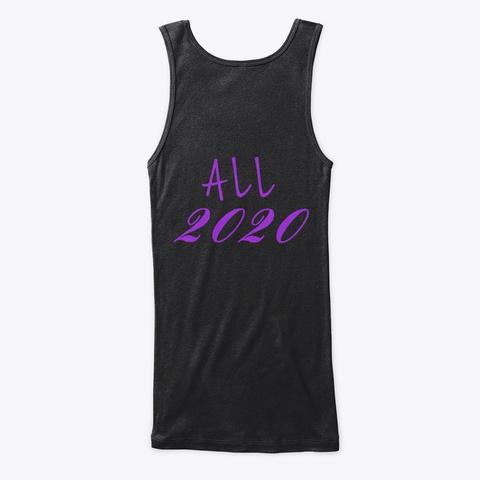 Dusty Free 2020 Black T-Shirt Back