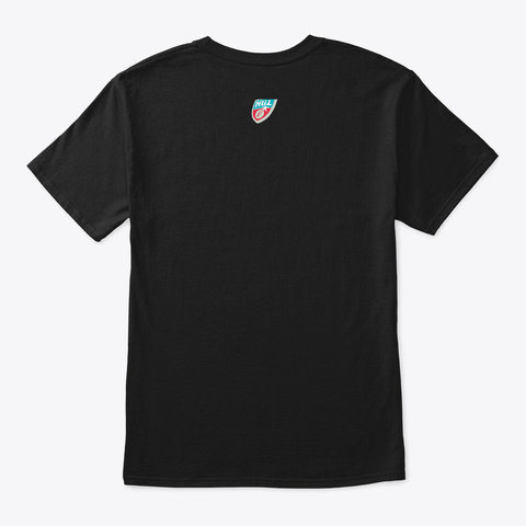 Indiana Blue Bombers Black T-Shirt Back