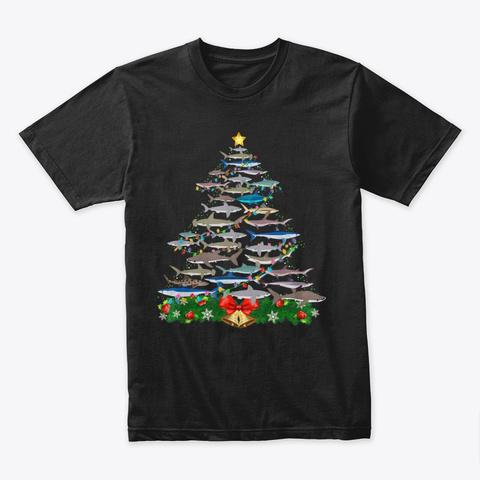 Tree Shirt  Lovers Gifts Men  Black T-Shirt Front