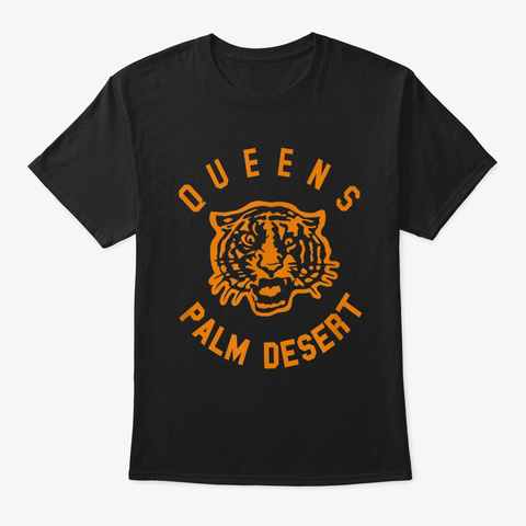 Queens Of The Stone Age Palm Desert T Sh Black T-Shirt Front