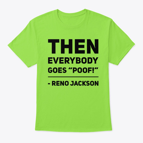 Hearthstone Poof Reno Jackson Ver2 Lime T-Shirt Front