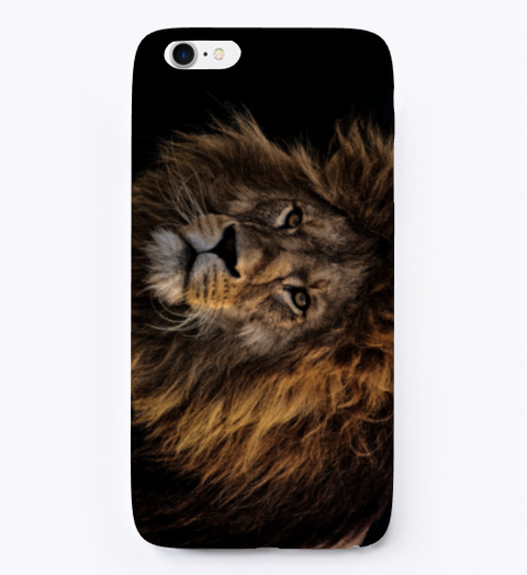 Lion Phone Cover. Standard T-Shirt Front