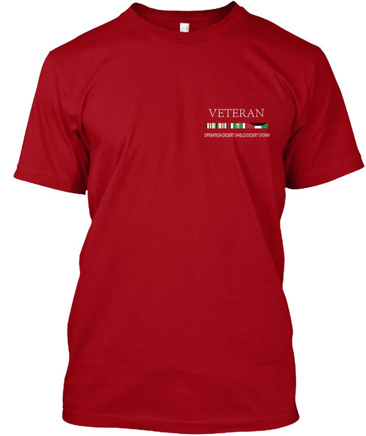 Uss-Ranger-Veteran-Operationdesertshielddesertform-Hanes-Tagless-Tee-T-Shirt thumbnail 6