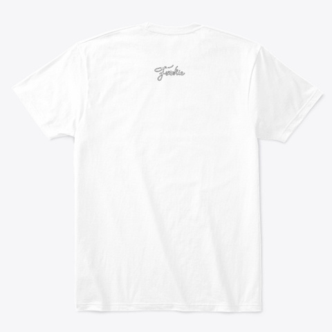 Last Woman Standing   Pocket Print (W) White T-Shirt Back