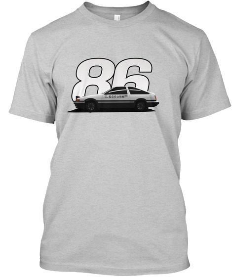 86 Light Steel T-Shirt Front