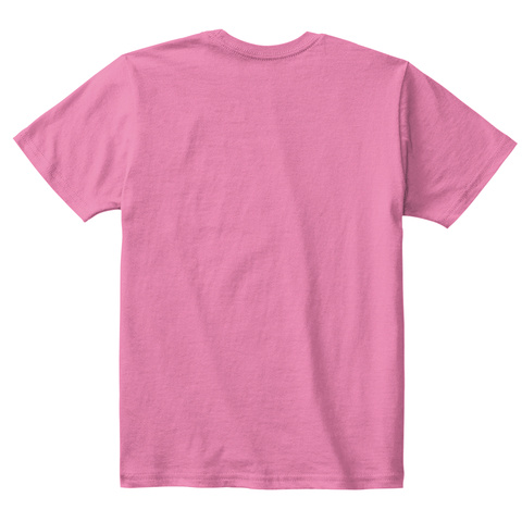Back To School Awesome T Shirt True Pink  T-Shirt Back