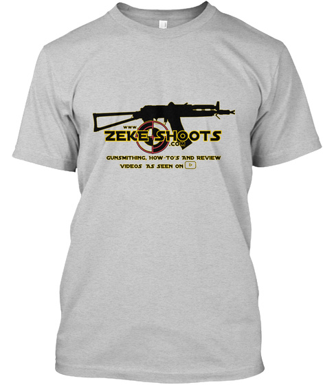 ZEKE SHOOTS merch Unisex Tshirt