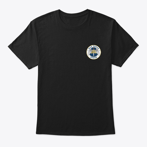 Nak Squad And Nak Donor   Tees Black T-Shirt Front