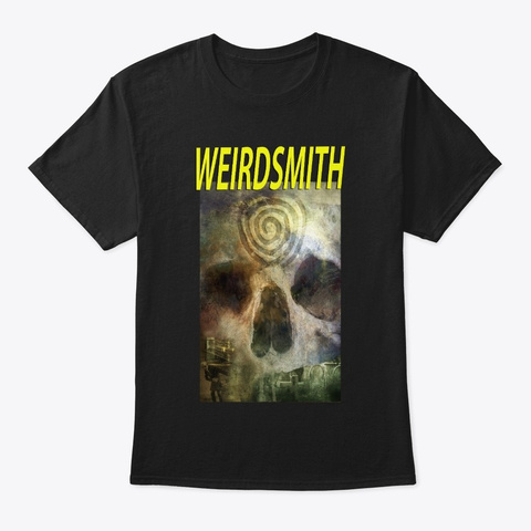 Weirdsmith Tee 3 Black T-Shirt Front