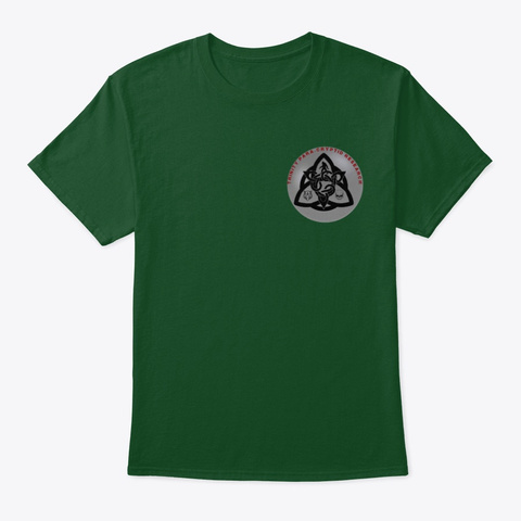 Trinity Paracryptid Research Deep Forest T-Shirt Front
