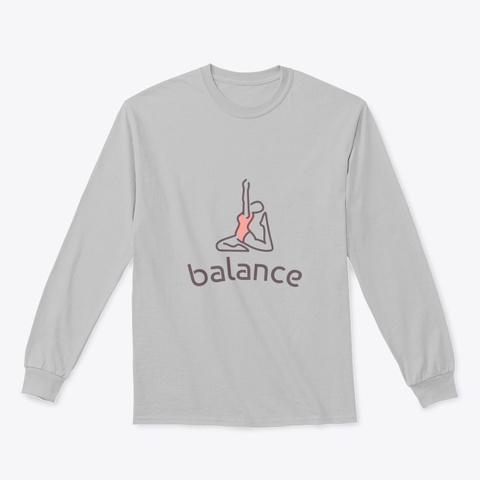 Balance Sport Grey T-Shirt Front