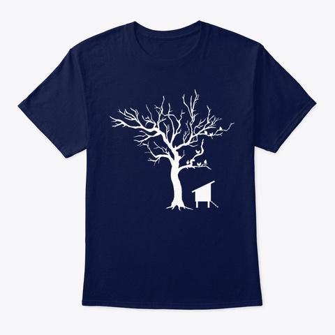 Ungrateful Chickens Navy T-Shirt Front