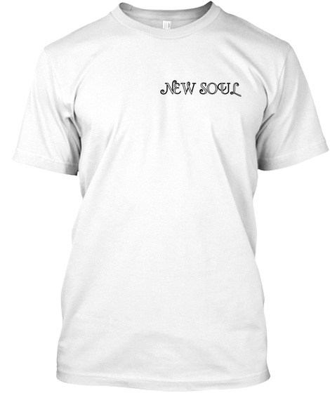 New Soul White T-Shirt Front